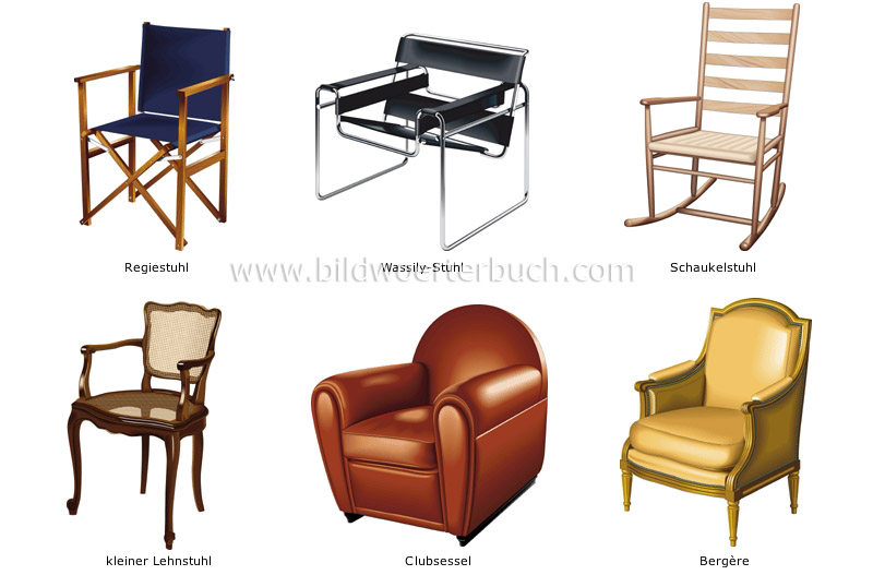examples of armchairs image