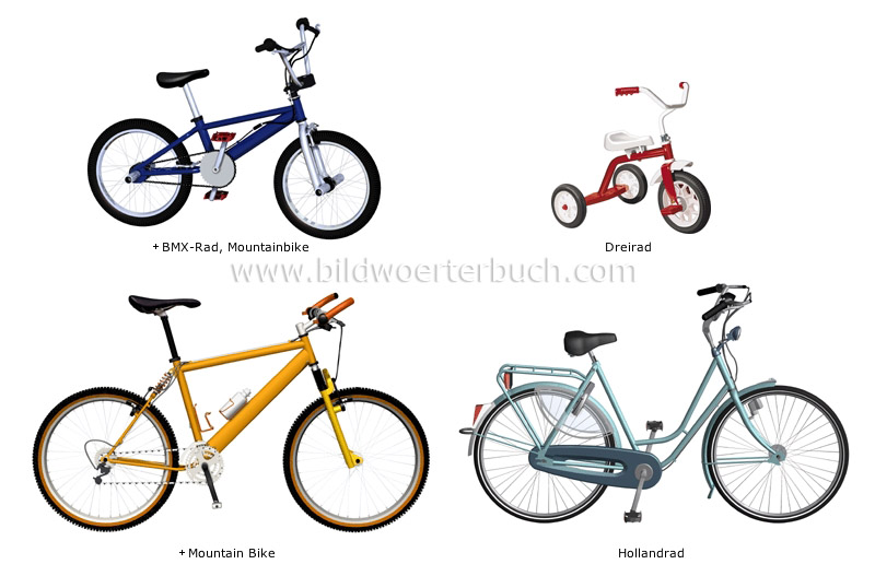 examples of bicycles image