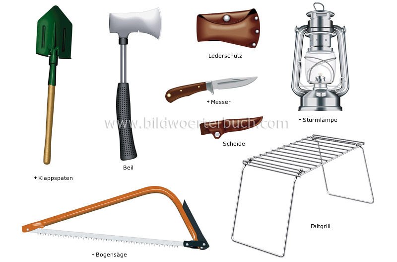 camping equipment image