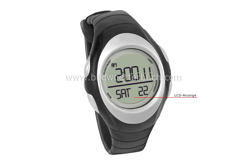 digital watch image