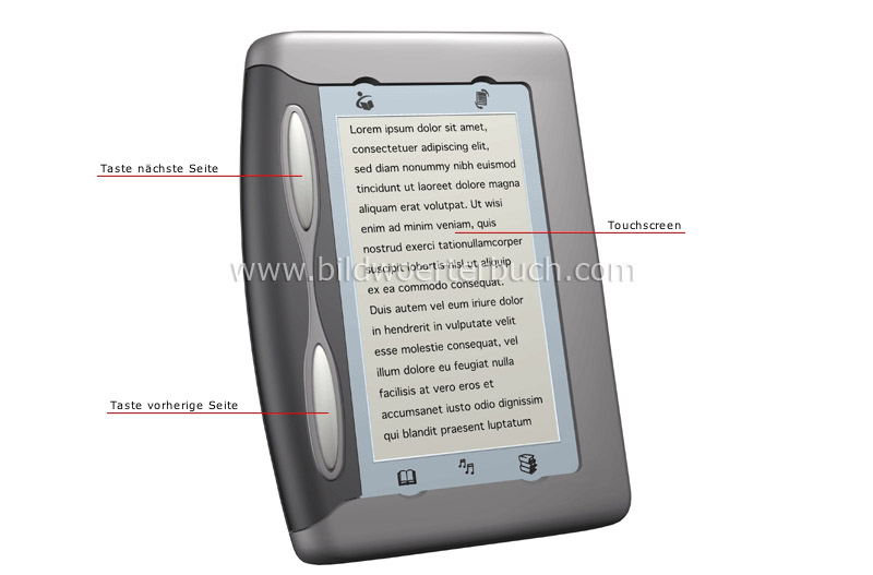 electronic book image