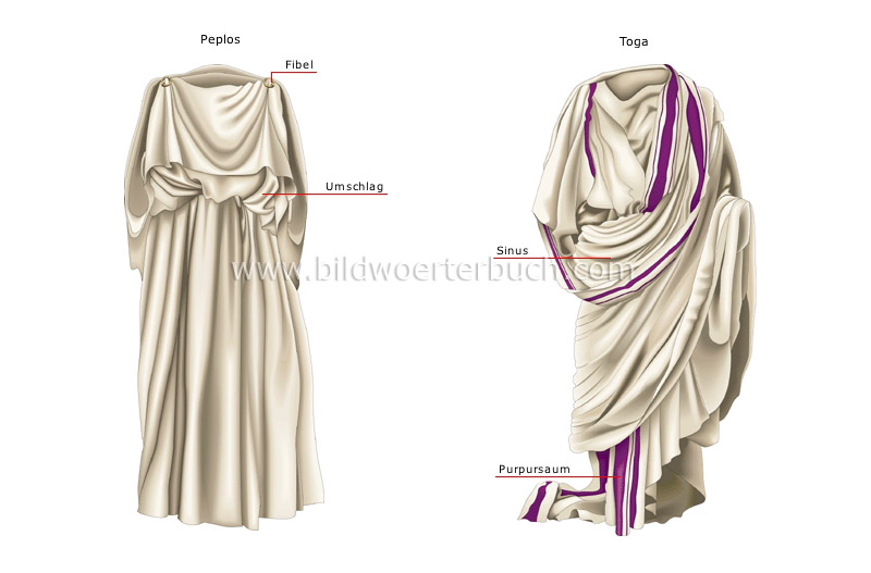 elements of ancient costume image