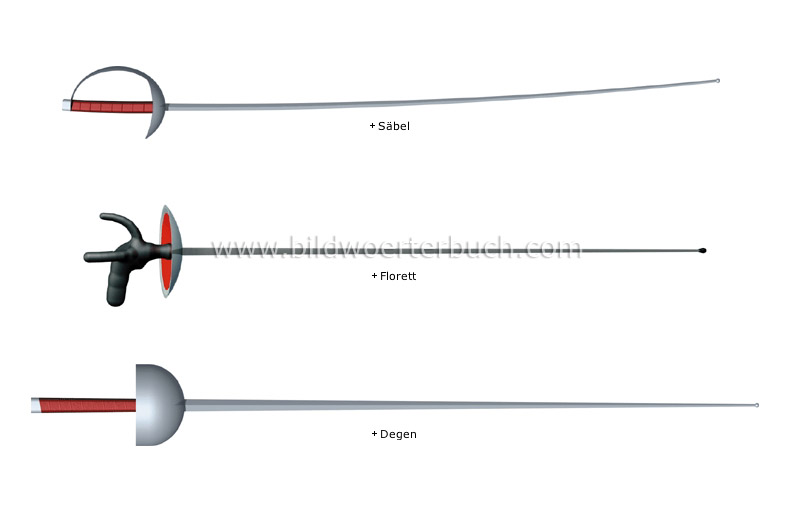 fencing weapons image