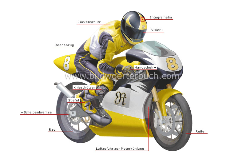 speed grand prix motorcycle and rider image