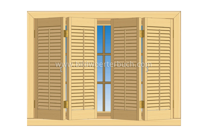 indoor shutters image