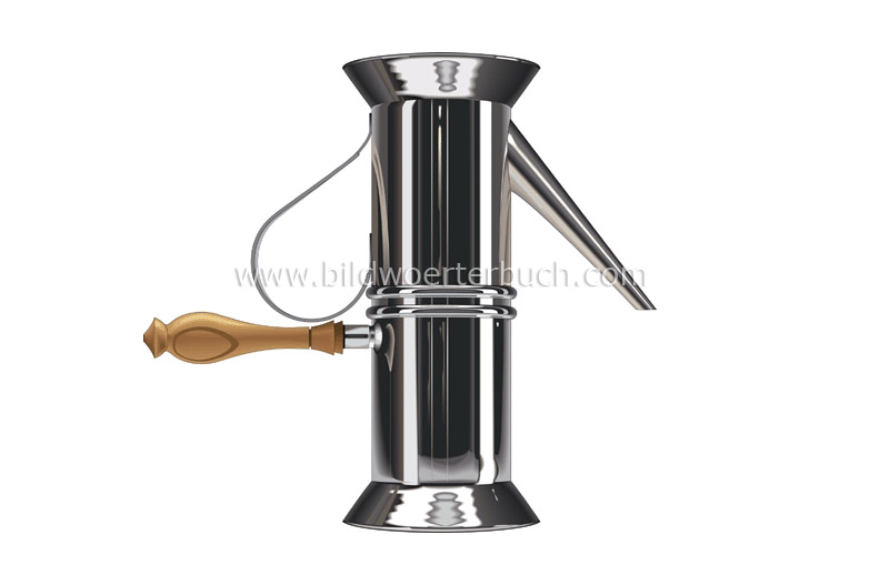Neapolitan coffee maker image