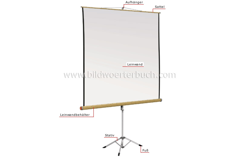 projection screen image