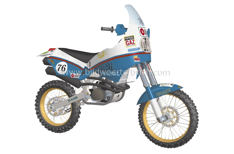rally motorcycle image
