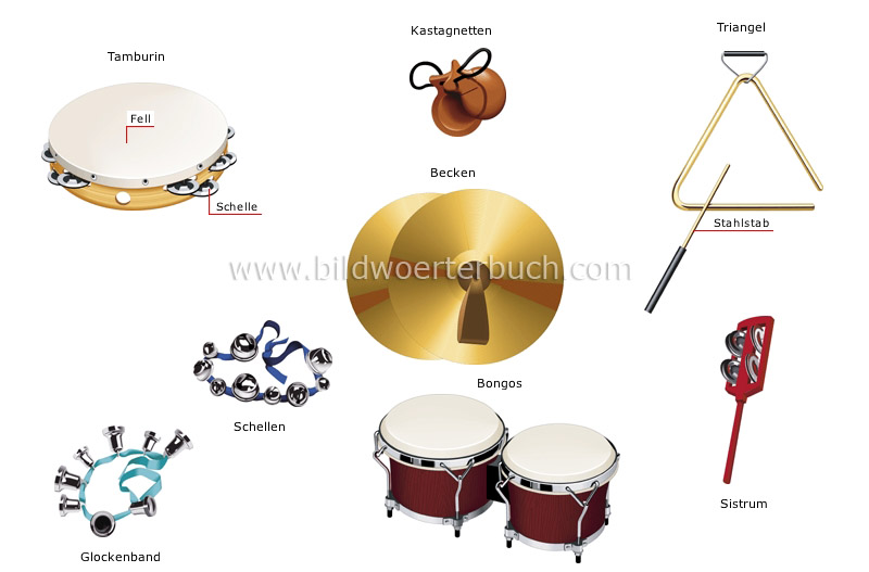 percussion instruments image