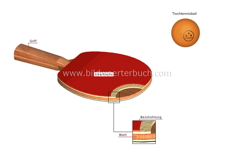 table tennis paddle image