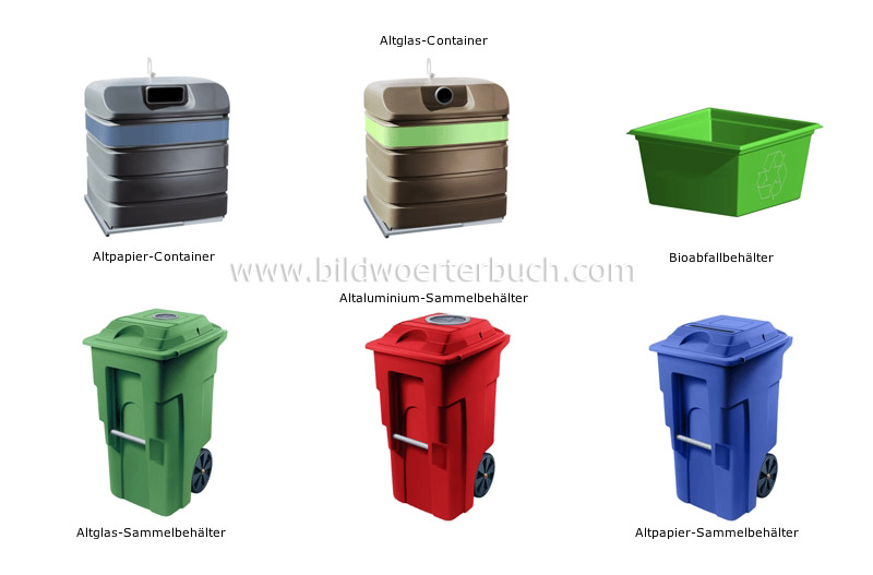 recycling containers image