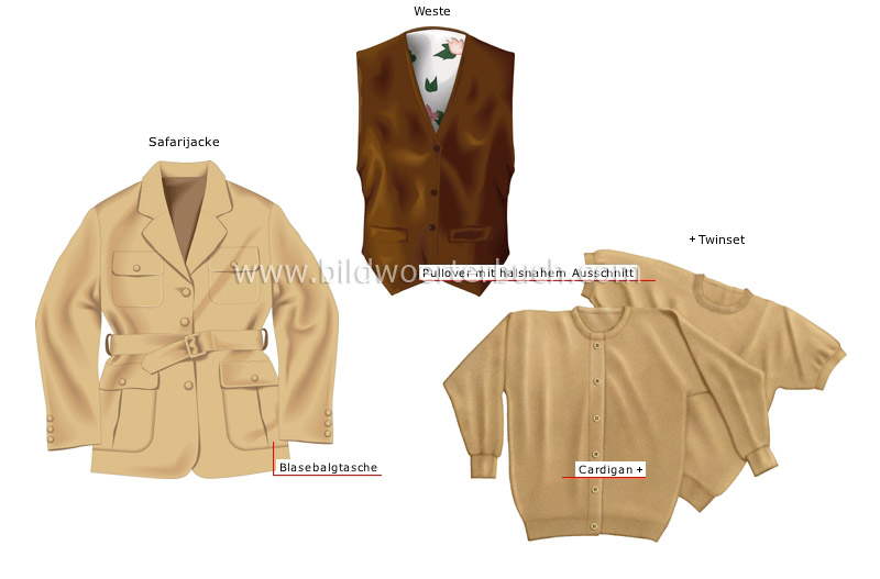 jackets, vest and sweaters image